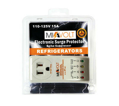 New Refrigerator 1800 Watts Voltage Brownout Appliance Surge Protector