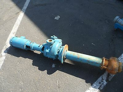 Roth Turbine Pump 1SEVL5663SF W/Baldor 2HP Motor