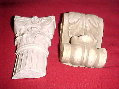 LOT OF 2 Wall Relief RepliIca of Ancient Roman Ruin PIECES Unique Wall Decor 623