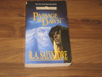 Forgotten Realms Novel Passage to Dawn The Legend of Drizzt, Book X WotC 1996