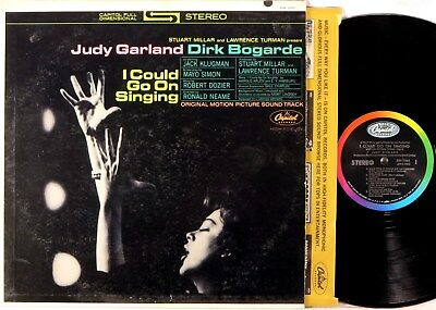 CAPITOL FDS STEREO I Could Go On Singing FILM SOUNDTRACK Judy Garland SW-1861
