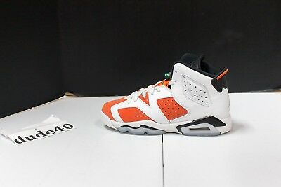 Air Jordan 6 Retro BG Gatorade Like Mike (Youth) Boys Sizes 4Y-7Y - 384665 145