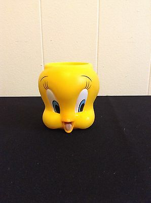 Applause Inc Looney Tunes Tweety Bird Sylvester Cartoon Plastic Childs Juice Cup