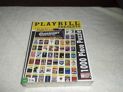 New Sealed Playbill Presents 1000 Piece Puzzle The Broadway Musical Collection