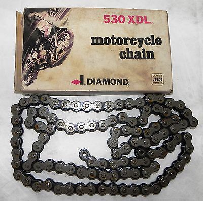 Harley Diamond Chain 530 Xdl 106 Link Motorcycle Chain Final Drive Harley Custom