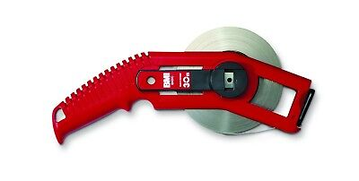 BMI 501321050BF Tape Measure Painted White Tape / Printed Increments / Width 13