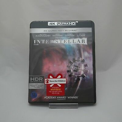 Interstellar (2017, Blu-ray) 4K UHD + 2D Edition