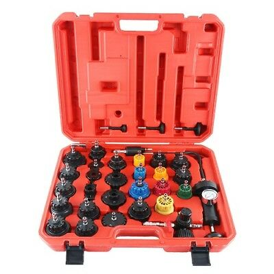 28pc Radiator Pressure Tester Set &Vacuum Type Cooling System Tools Universal US