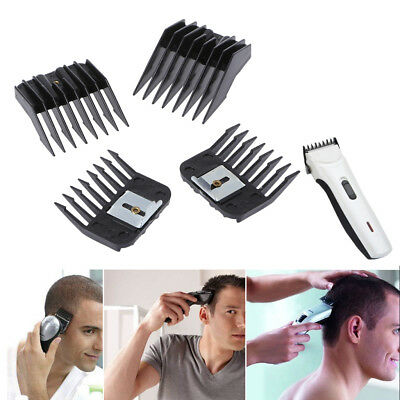 Standard Set 4 Guide Attachment Electric Hair Clipper Trimmer Shaver Limit Combs