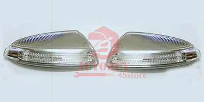 New A Pair Door Mirror Turn Signal Lamps Lights For 2009-2010 MB ML GL W164