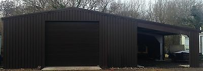 Prefabricated Steel Building with Lean-to Industrial Workshop Industrial valet