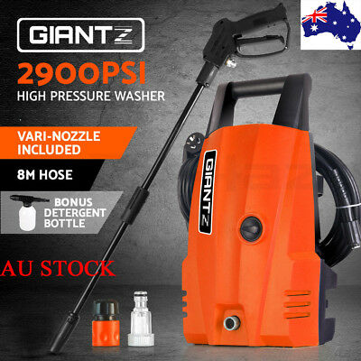 GIANTZ 2900psi High Pressure Washer Water Cleaner Electric Pump Hose Gurney New