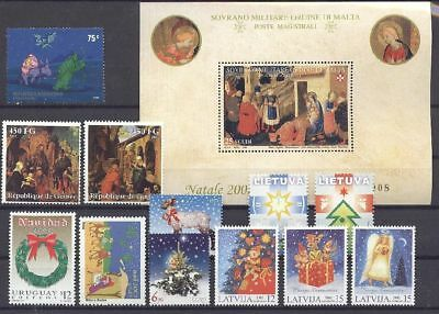 Weihnachten, Christmas - LOT ** MNH 2002