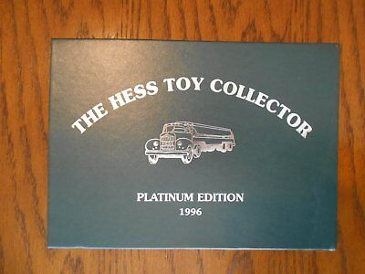 Vintage, The Hess Toy Collector Platinum Edition 1996, No. 892 of 5000, MIB, LE
