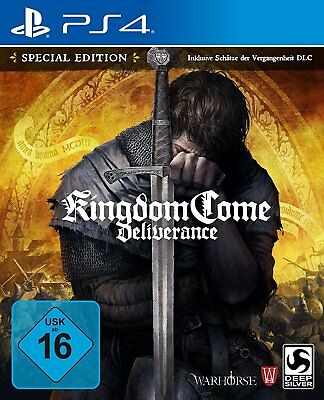 Kingdom Come Deliverance - D1-Edition | PS4 | NEU & OVP | UNCUT | Blitzversand
