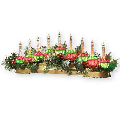 Bubble Light Christmas Centerpiece Decoration, by Collections Etc