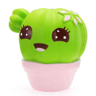 Squishy Cactus Scented Squeeze Healing Slow Rising Soft Plant Squeeze Relax Toy