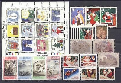 Weihnachten, Christmas - LOT ** MNH 1991