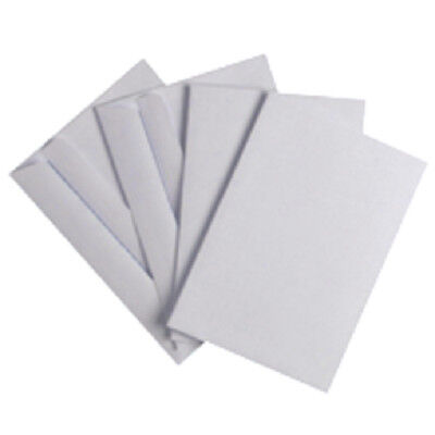 Q-Connect C6 Envelope 80gsm White Self Seal (Pack of 1000) KF02714