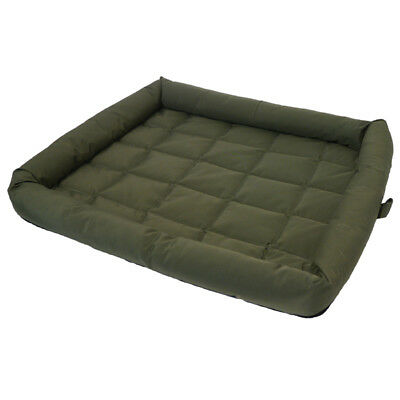 Rosewood Green Quilted Water Resistant Dog Crate Mattress Size Choice