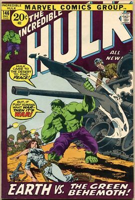 Incredible Hulk #146 - FN/VF