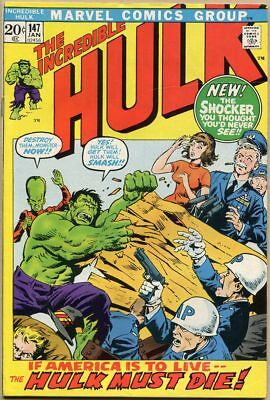 Incredible Hulk #147 - VG+