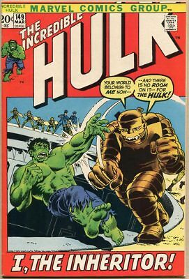Incredible Hulk #149 - VF