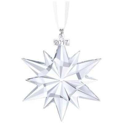 2017 SWAROVSKI Annual Edition Crystal SNOWFLAKE Christmas Ornament #5257589 NIB