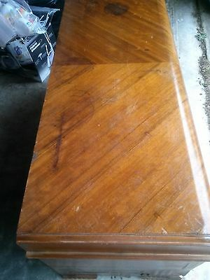 Vintage 1943 ART DECO LANE Cedar Chest Style 482075  with Tray