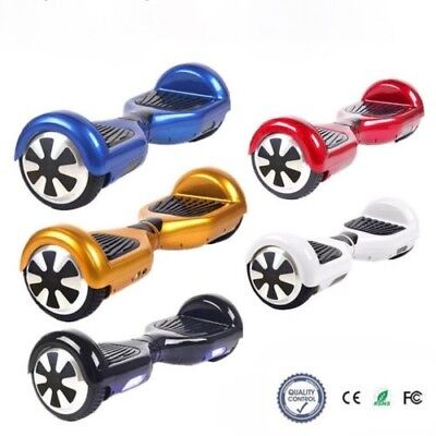 """Patinete electrico patin scooter 6,5"""" monociclo hoverboard skate elige color"""