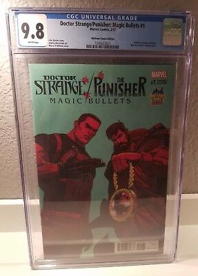 "CGC 9.8 Dr Strange/Punisher Magic Bullets 1 ""Run The Jewels"" Midtown Variant"