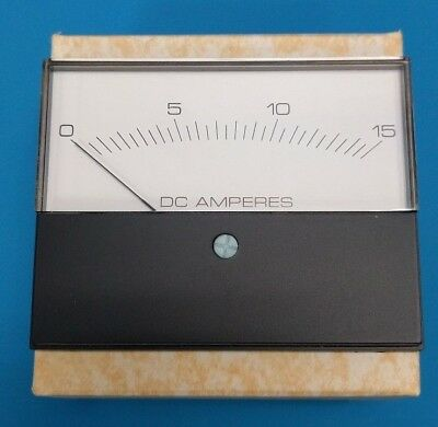 MODUTEC Panel Meter And Gauge 0-15 DC Amp Part Number 3S-DAA-015