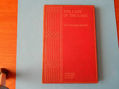 Vintage Book The Lady Of The Lake Sir Walter Scott Cassells Nat Lib Old 1904 #16