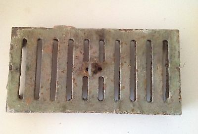 Victorian Cast Iron Air Brick Vent Sliding Grill