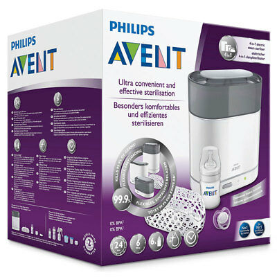 Avent 4in1 Steam Steriliser Online Only