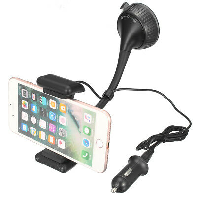 Bluetooth Wireless Hands Free Car FM Transimittervs MP3 Player Phone Holder Cha