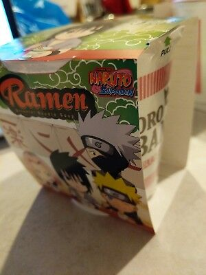 Anime Naruto Ramen Cups Limited Edition Chicken Flavor