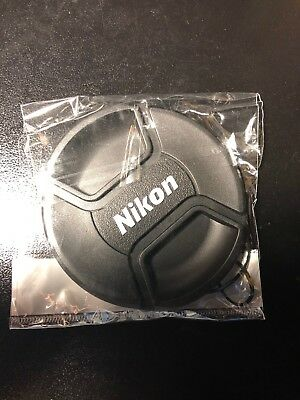 New Nikon 72mm Snap-on Lens Cap For Nikon Lenses 72 mm LC-72
