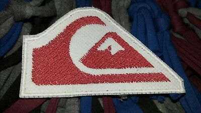 Quiksilver Logo Embroidery Sew on Patch Label Badge Cap T Shirt Jacket Bag diy