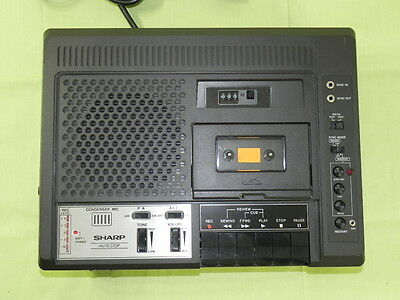 Vintage Sharp Cassette Recorder RD-671AV w/Projector Synchronization EXCELLENT