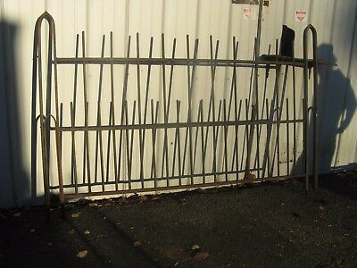 27 Feet Iron Fence--36 Inch Tall All Good Straight Sections-Heavy!