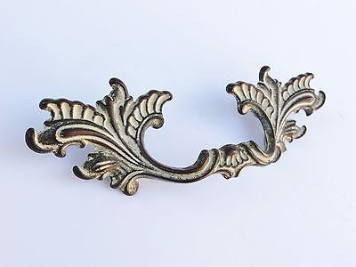 "Vintage 3"" Drawer Pull Shabby Hollywood Regency French Style Dresser Hardware"