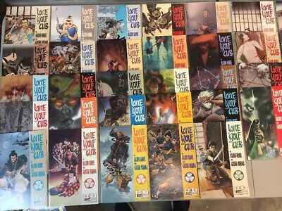 Lone Wolf And Cub Complete Set 1-45 First Comics 1987 Kazuo Koike