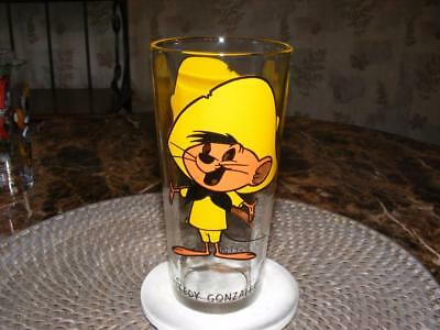 Vtg 1973 Speedy Gonzales Warner Bro. Loony Tunes Pepsi Series Glass NEW Unused
