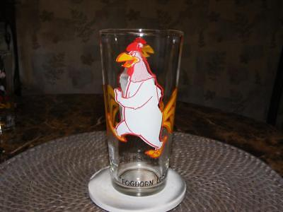 Vtg 1973 Foghorn Leghorn Warner Bro. Loony Tunes Pepsi Glass NEW Unused