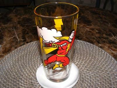 Vintage 1978 Shazam Super Hero Pepsi Series Glass DC Comics NEW Unused -B