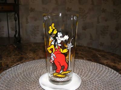 Vtg 1978 Goofy & Pluto Walt Disney Pepsi Collection Glass NEW Unused