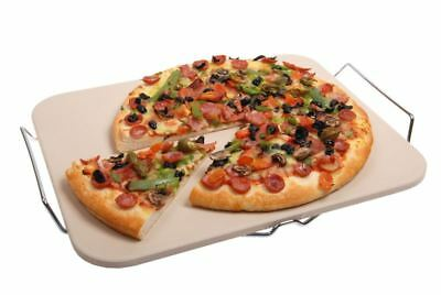 Benzer - Italian Traditions LARGE Rectangular Pizza Stone 38x30cm
