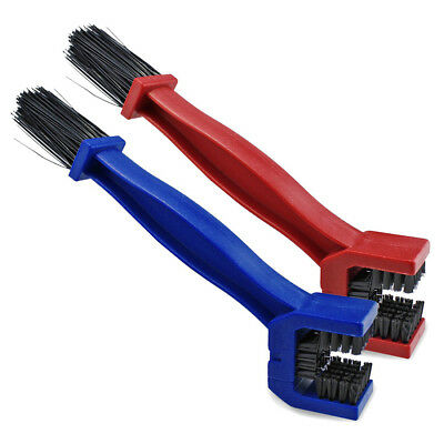 2x Motorcycle Bicycle Cycling Chain Brush Cleaner Cleaning Tool N8L9