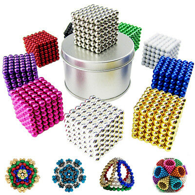 216+6pcs 5mm  Magic Magnetic DIY Balls Sphere Neodymium Cube Luxury